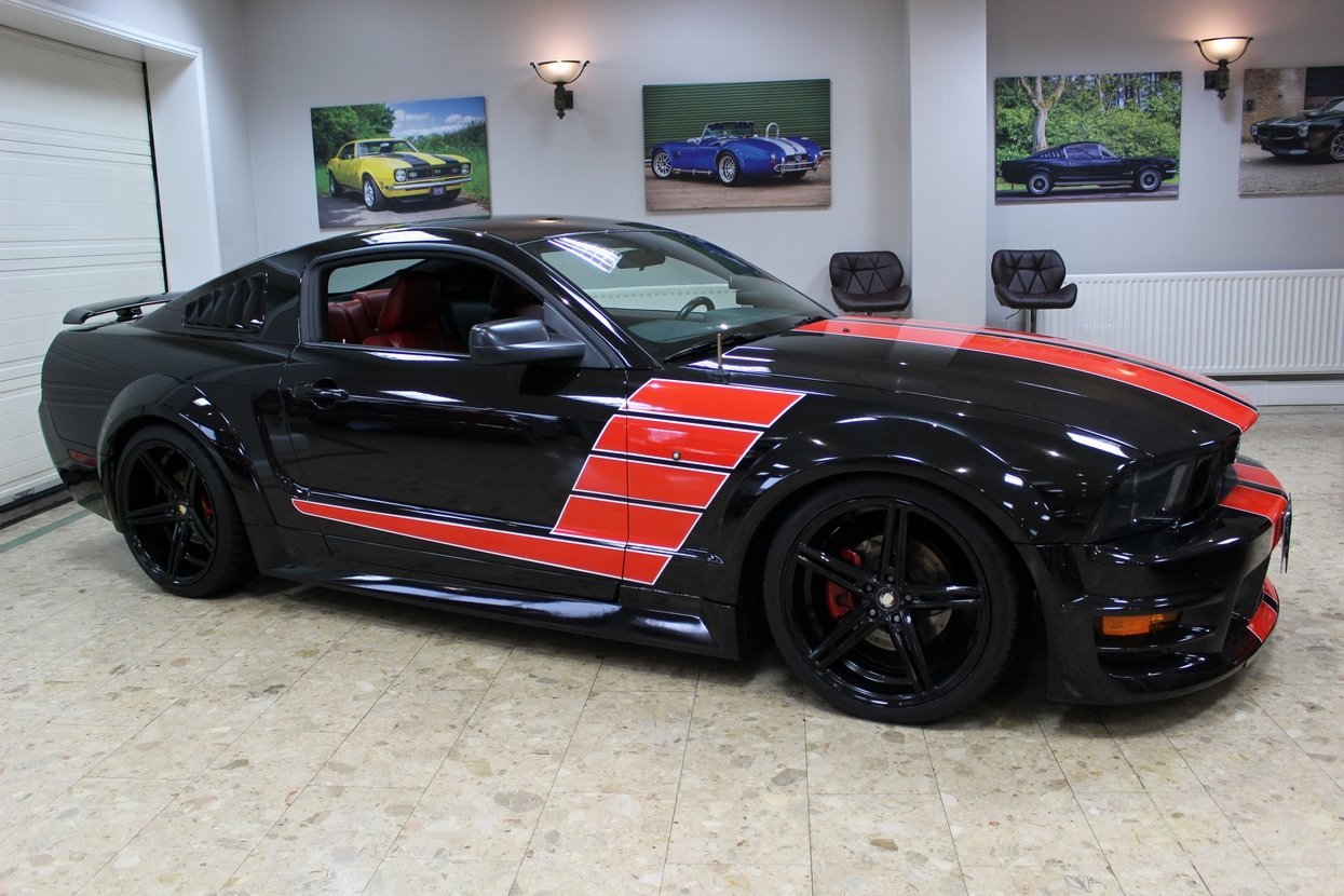 2006 Ford Mustang GT 4.6 V8 Supercharged Stage 3 | FSH SOLD (picture 1 of 10)