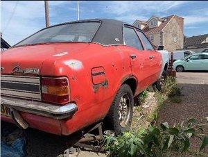 1974 Ford Cortina Mk3 2000E Rare Sebring Red/ black int For Sale