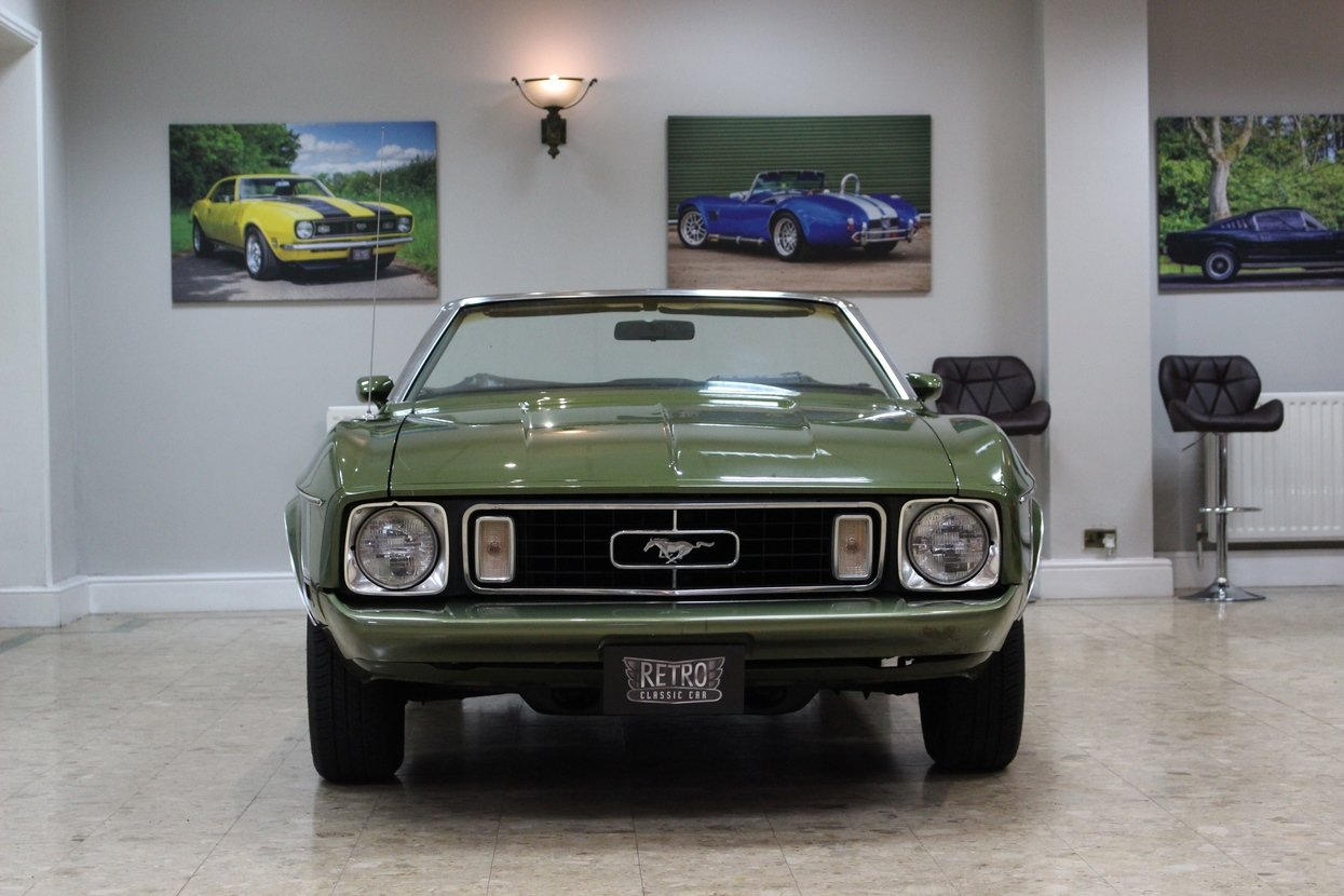 1973 Ford Mustang Convertible 351 V8 Auto   Ivy Glow  For Sale (picture 2 of 10)