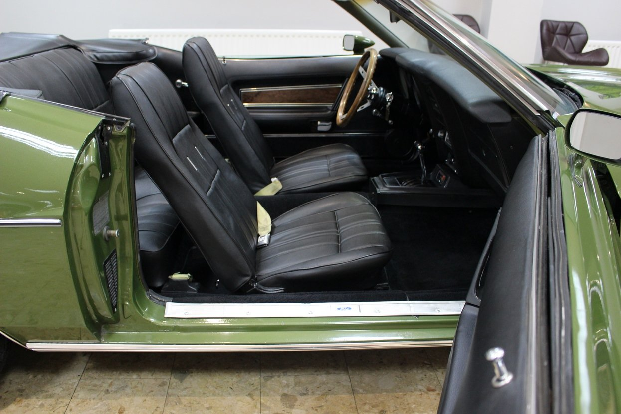 1973 Ford Mustang Convertible 351 V8 Auto   Ivy Glow  For Sale (picture 3 of 10)