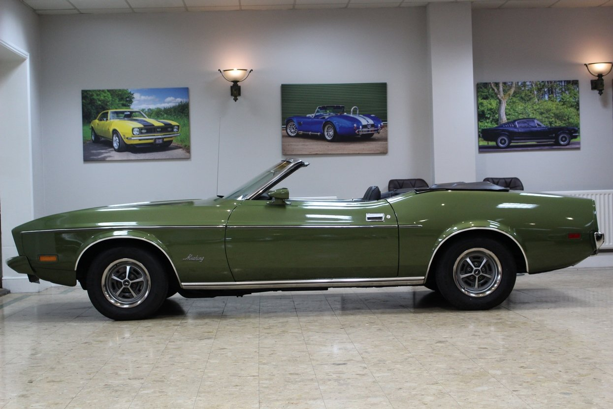 1973 Ford Mustang Convertible 351 V8 Auto   Ivy Glow  For Sale (picture 4 of 10)