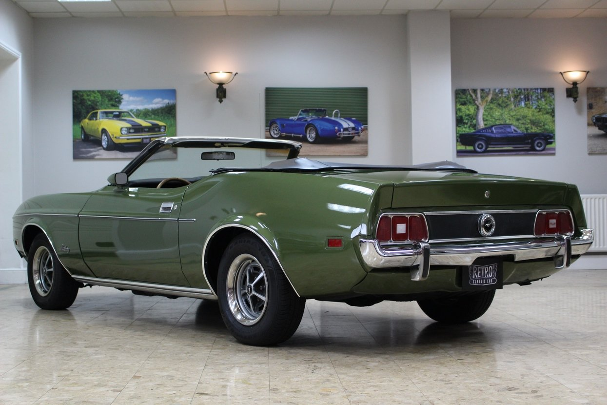 1973 Ford Mustang Convertible 351 V8 Auto   Ivy Glow  For Sale (picture 5 of 10)