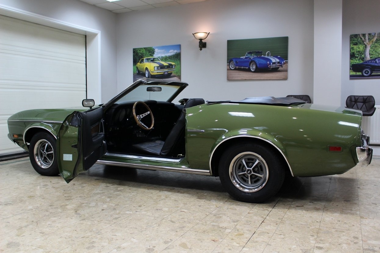 1973 Ford Mustang Convertible 351 V8 Auto   Ivy Glow  For Sale (picture 6 of 10)