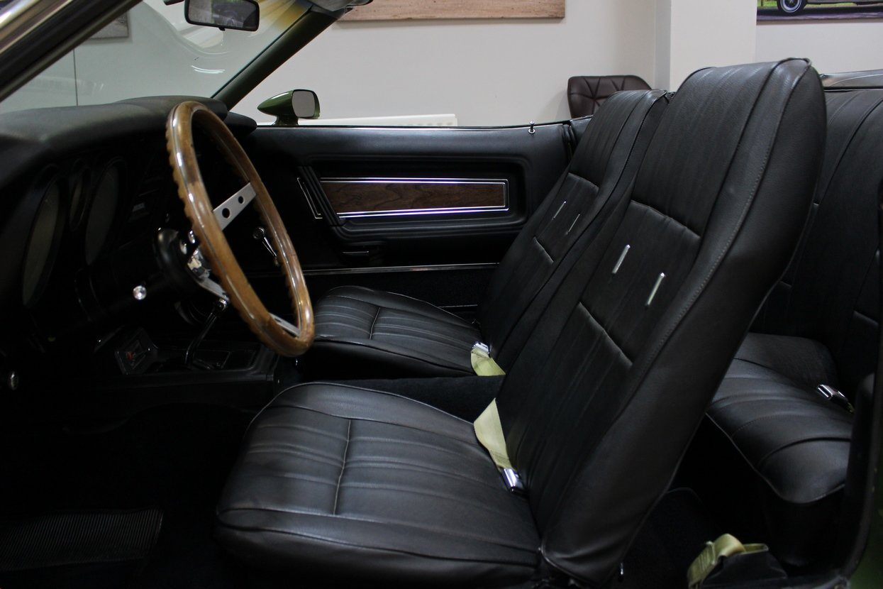 1973 Ford Mustang Convertible 351 V8 Auto   Ivy Glow  For Sale (picture 7 of 10)