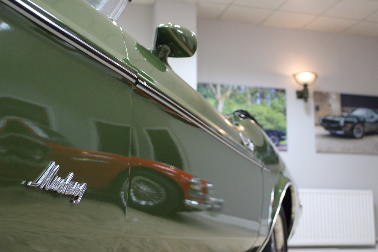 1973 Ford Mustang Convertible 351 V8 Auto   Ivy Glow  For Sale (picture 8 of 10)
