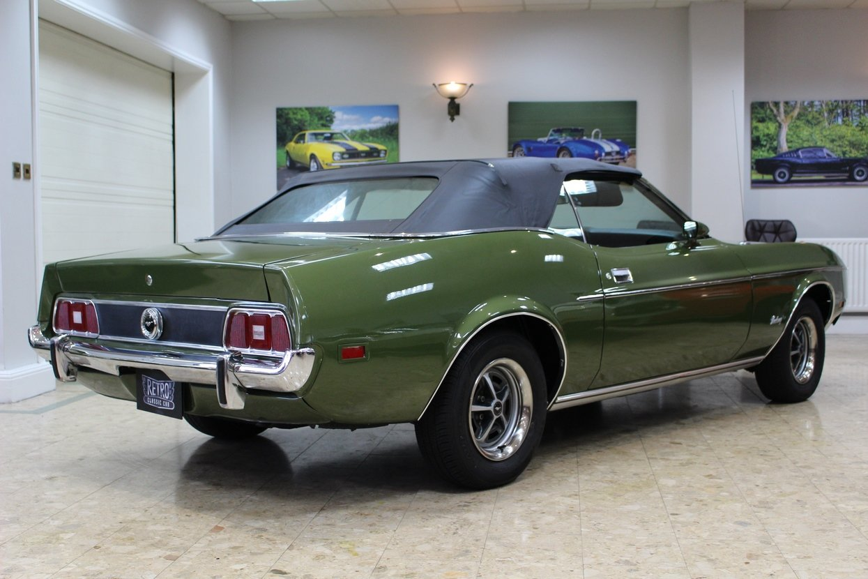 1973 Ford Mustang Convertible 351 V8 Auto   Ivy Glow  For Sale (picture 10 of 10)
