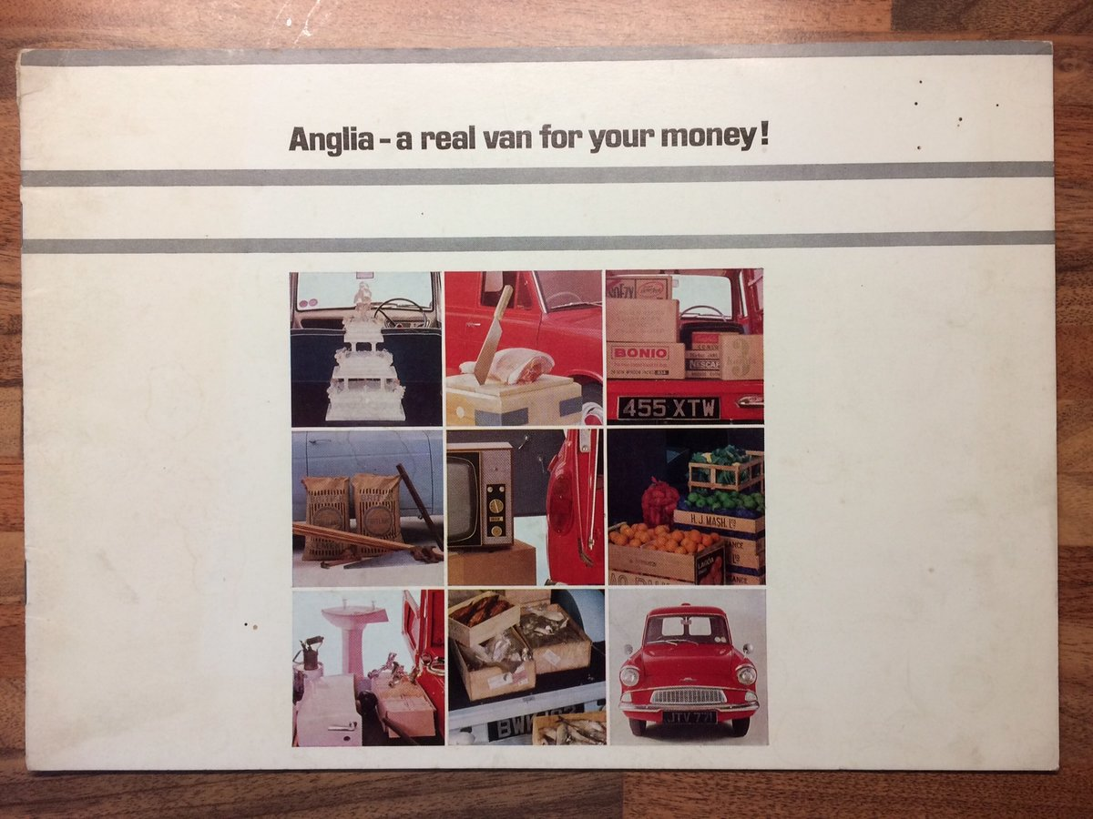 Ford Anglia Van sales brochure. For Sale (picture 2 of 5)