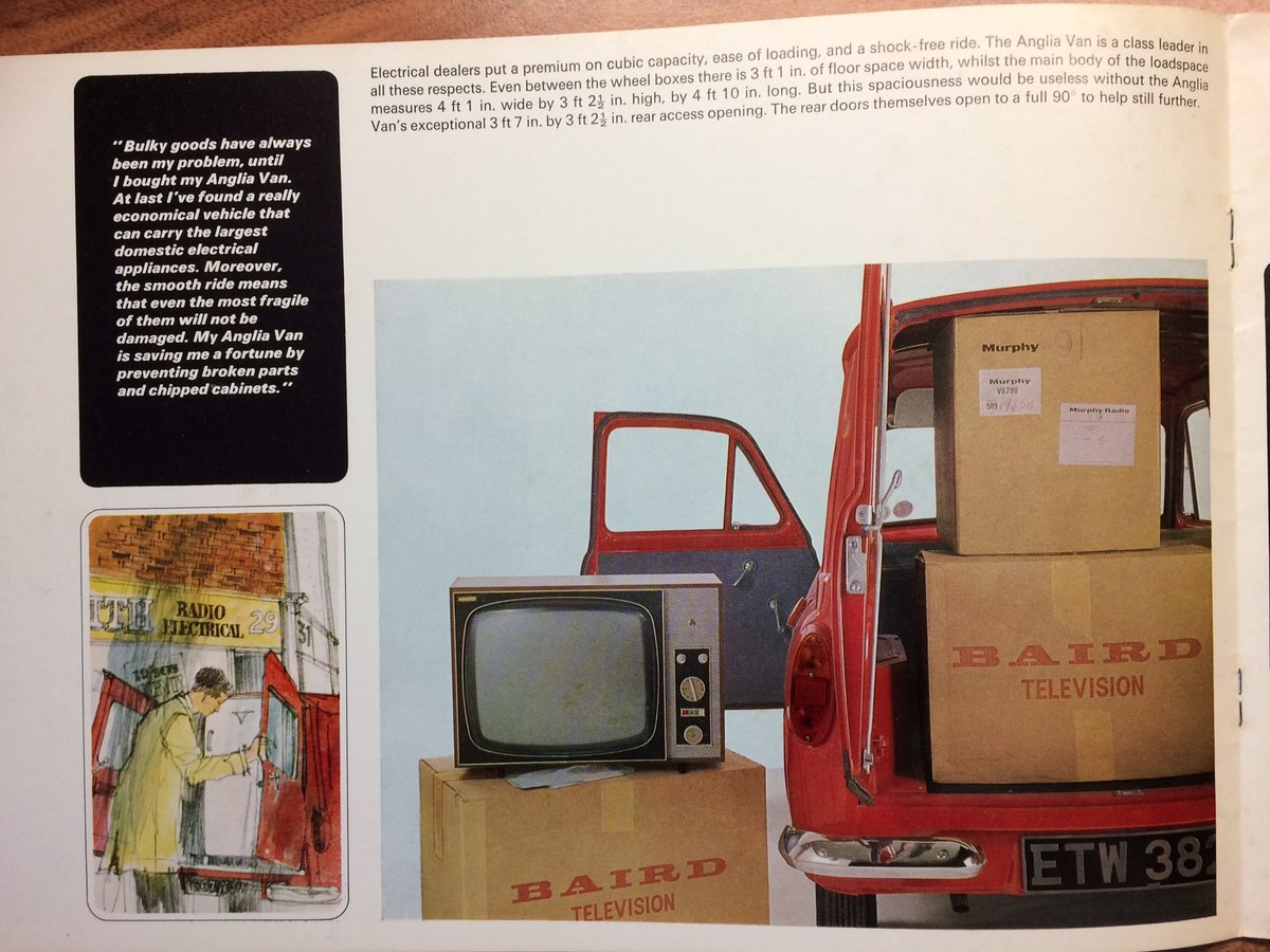 Ford Anglia Van sales brochure. For Sale (picture 3 of 5)