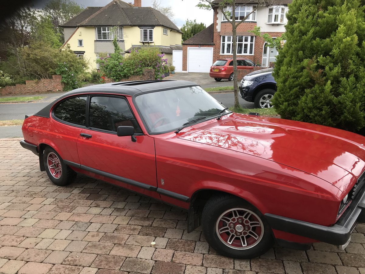 1982 Ford Capri Stunning Original Bodywork  For Sale (picture 1 of 6)