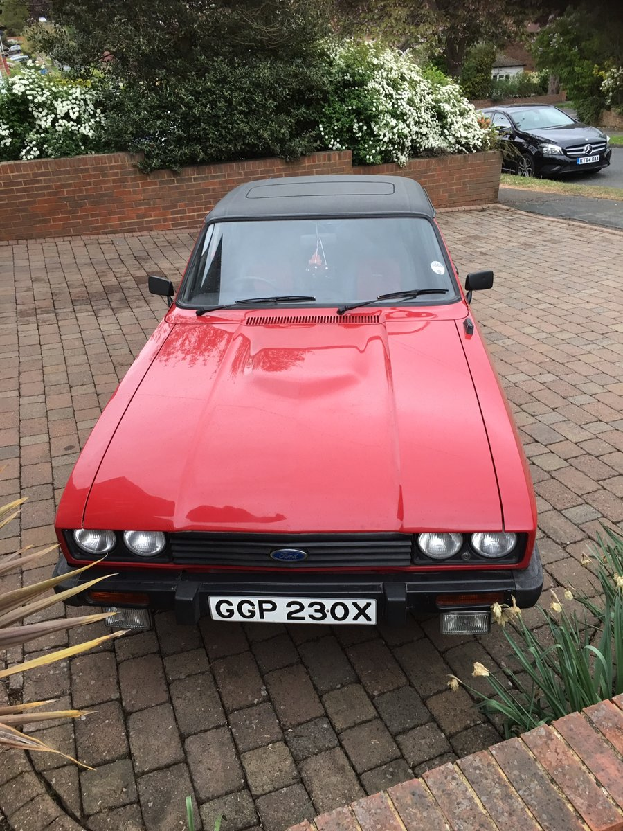 1982 Ford Capri Stunning Original Bodywork  For Sale (picture 2 of 6)