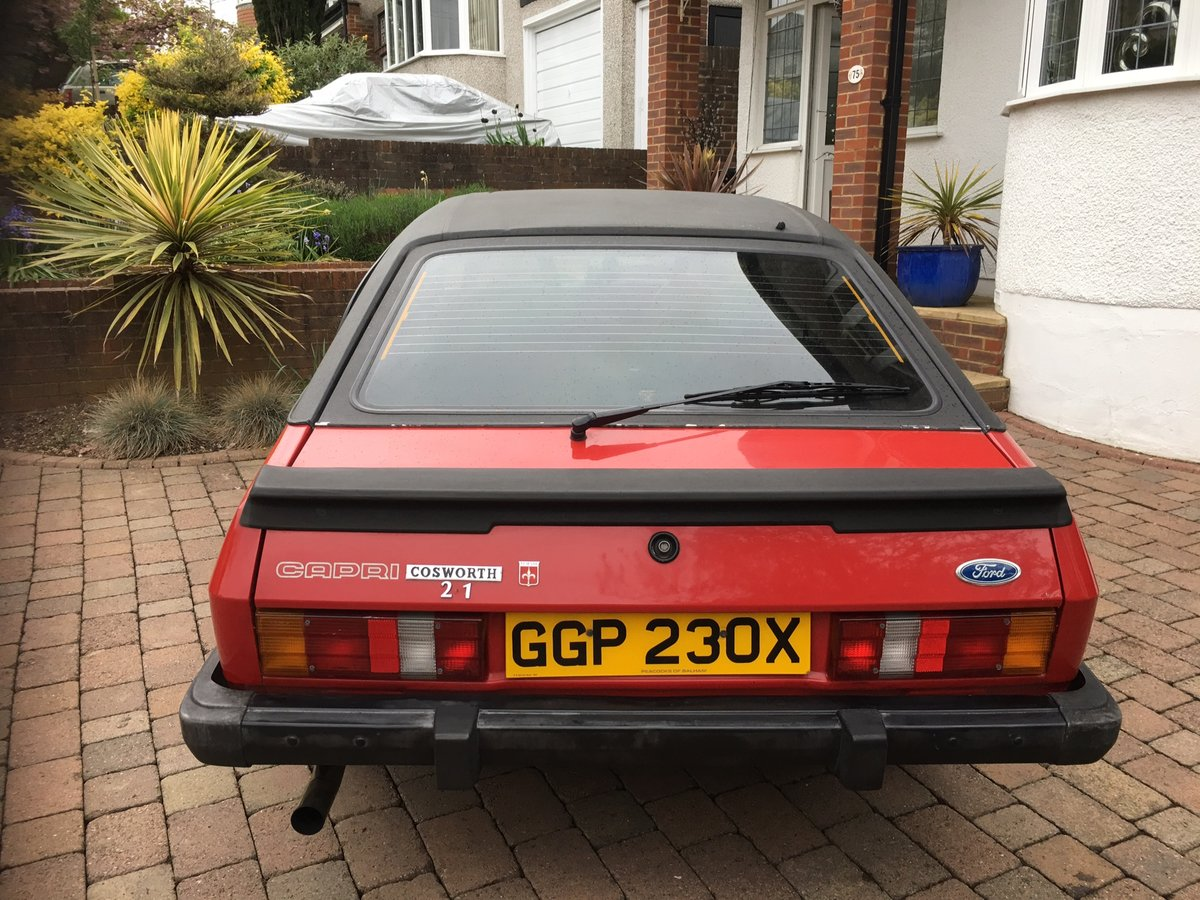 1982 Ford Capri Stunning Original Bodywork  For Sale (picture 4 of 6)