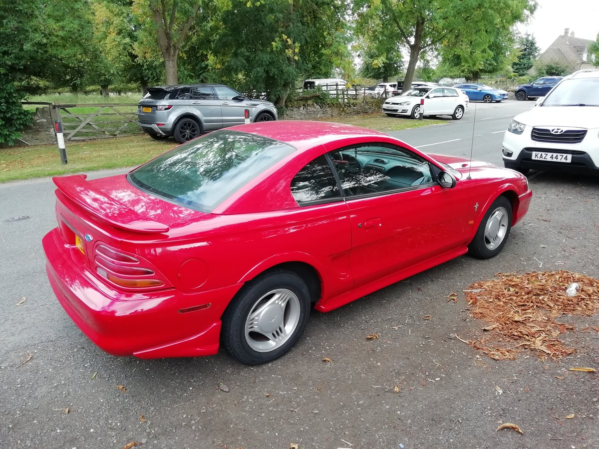 1995 Ford Mustang MK4 For Sale (picture 1 of 6)