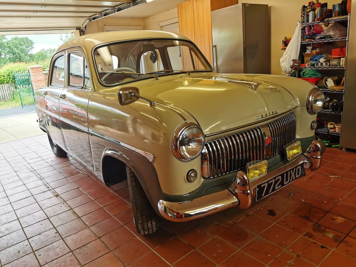 1955 Ford consul mk1 For Sale (picture 1 of 6)