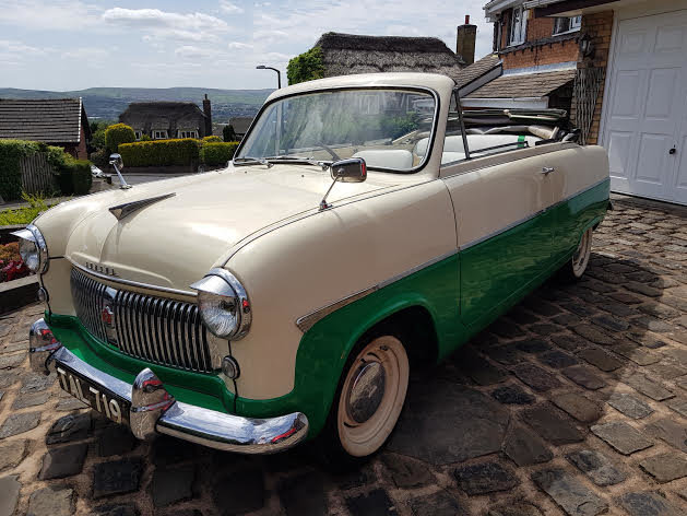 1955 Ford Consul MK1 Convertible SOLD (picture 1 of 6)