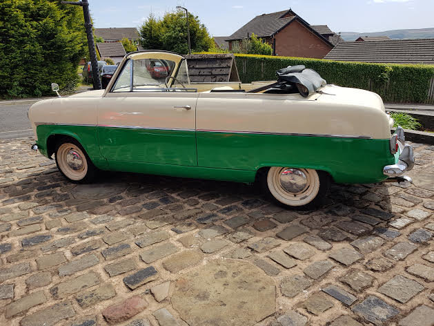 1955 Ford Consul MK1 Convertible SOLD (picture 2 of 6)