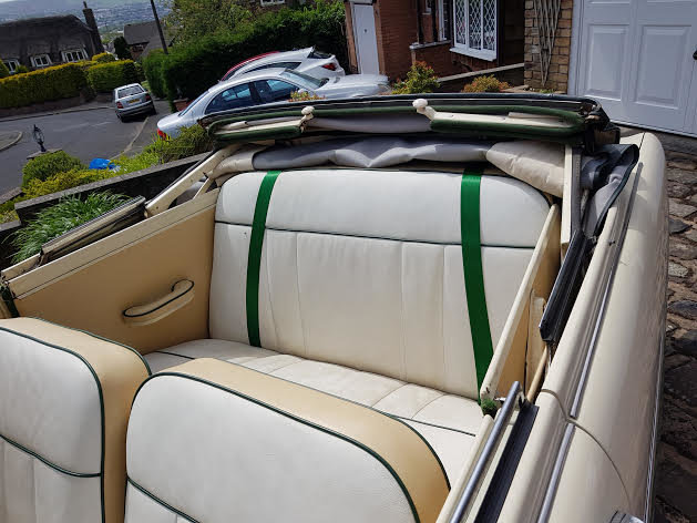 1955 Ford Consul MK1 Convertible SOLD (picture 3 of 6)