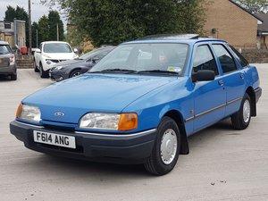 1988-f ford sierra 1.8 l 5dr hatch 56k miles For Sale
