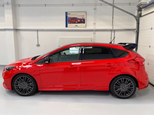 2018 Focus RS MK3 Red Edition As New under 200  Miles For Sale (picture 1 of 6)