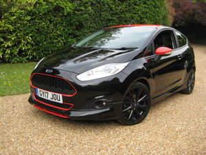2017 Ford Fiesta 1.0 Zetec S Black Edition With 1 Owner From New