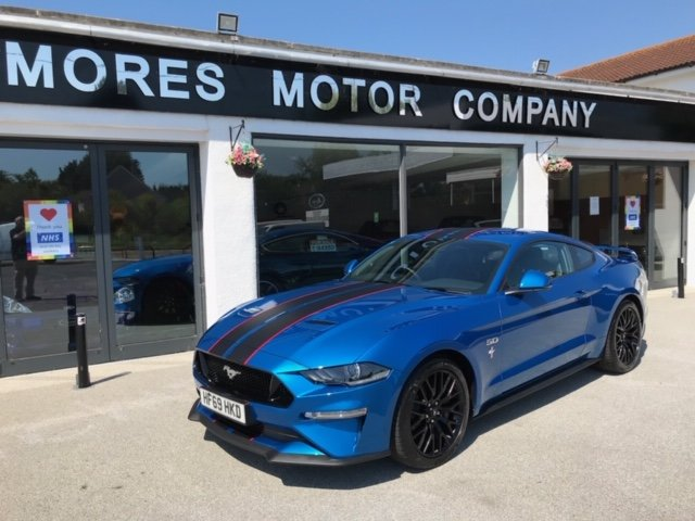 Ford Mustang GT V8 Manual (Custom Pack) 2019 1,575 miles  SOLD (picture 1 of 6)