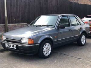 1989 Ford Escort 42k Genuine 2 owners