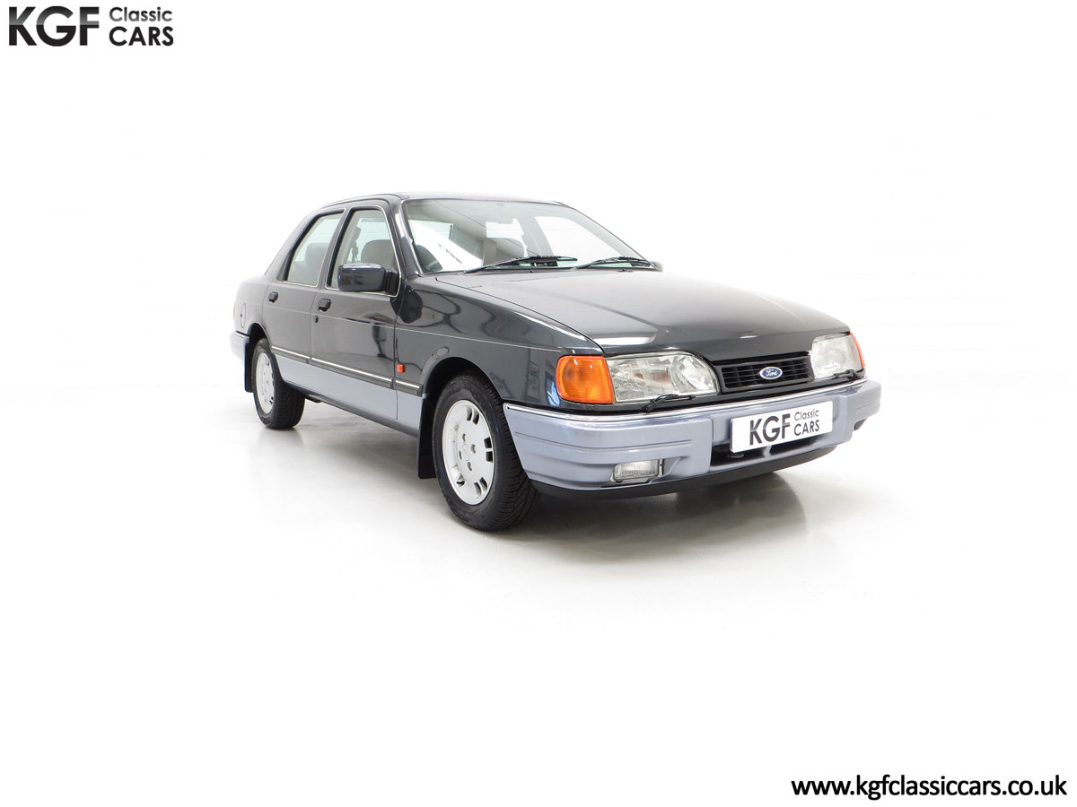 1989 A Luxury Ford Sierra Sapphire 2000E with just 13,744 Miles SOLD (picture 1 of 24)
