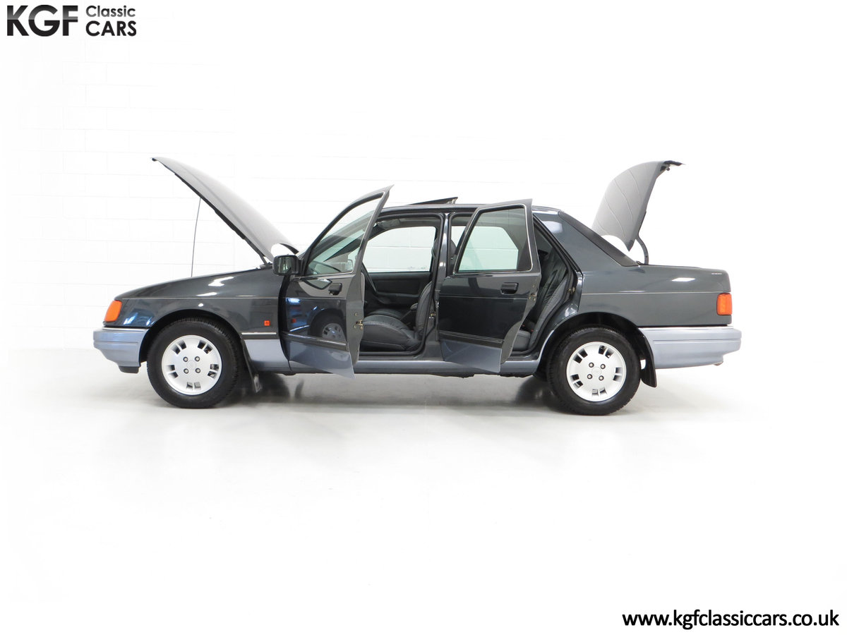 1989 A Luxury Ford Sierra Sapphire 2000E with just 13,744 Miles SOLD (picture 7 of 24)
