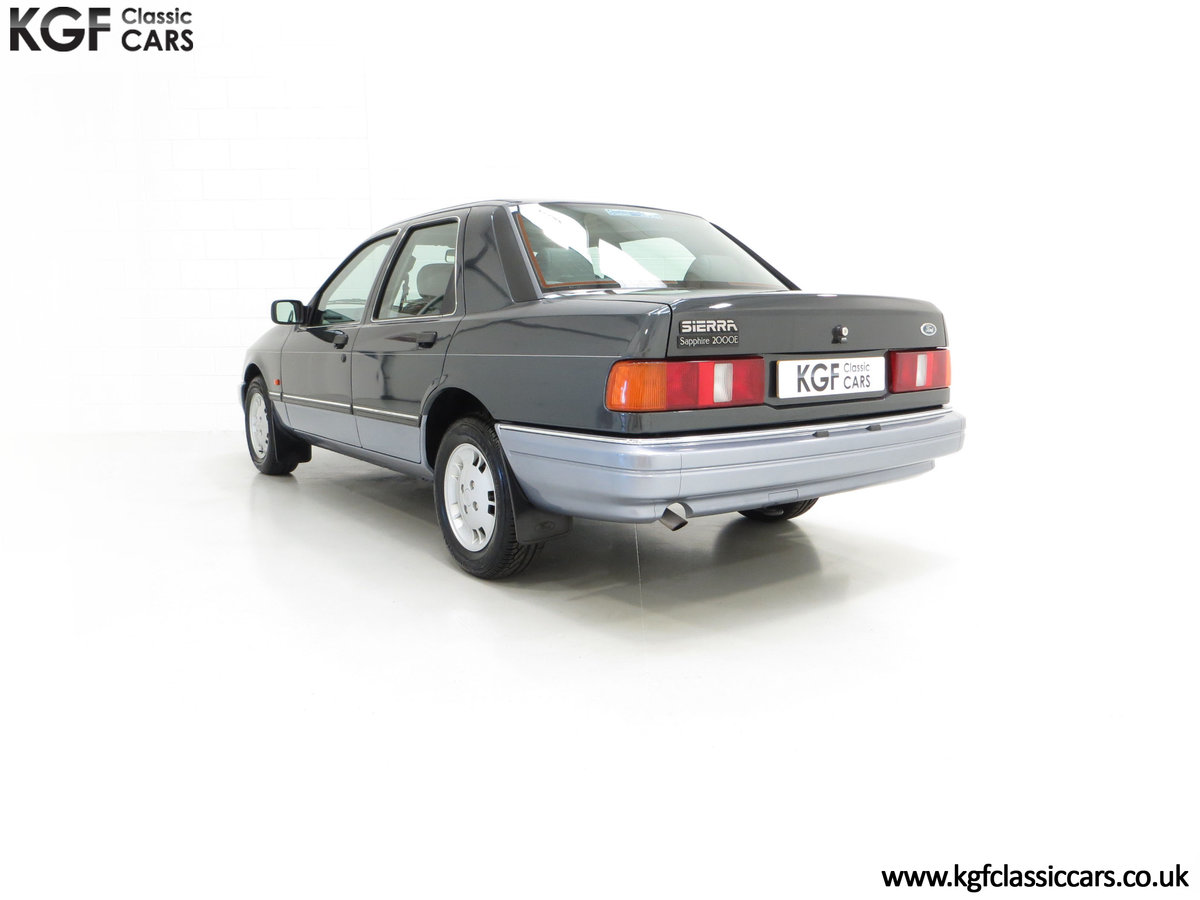 1989 A Luxury Ford Sierra Sapphire 2000E with just 13,744 Miles SOLD (picture 8 of 24)