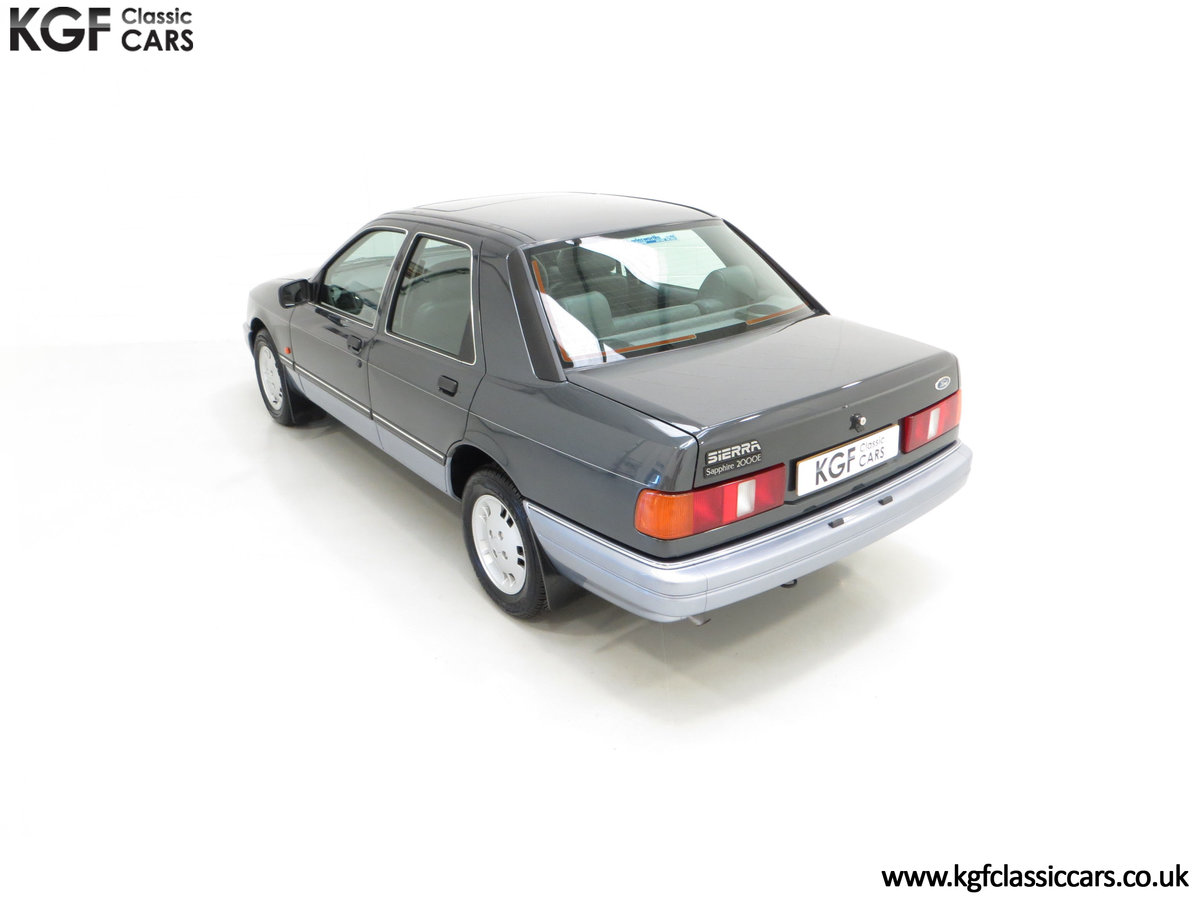 1989 A Luxury Ford Sierra Sapphire 2000E with just 13,744 Miles SOLD (picture 9 of 24)