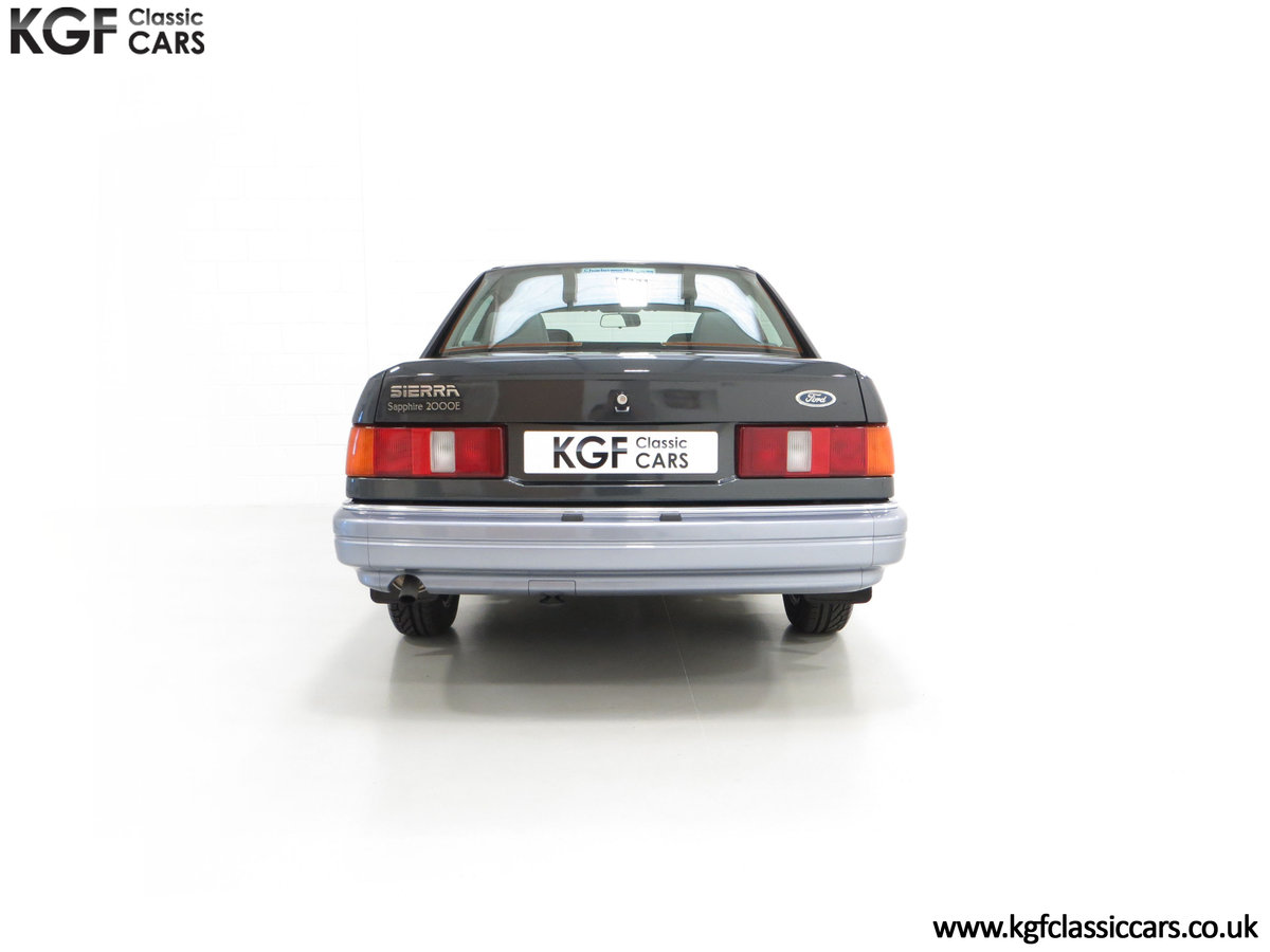 1989 A Luxury Ford Sierra Sapphire 2000E with just 13,744 Miles SOLD (picture 10 of 24)