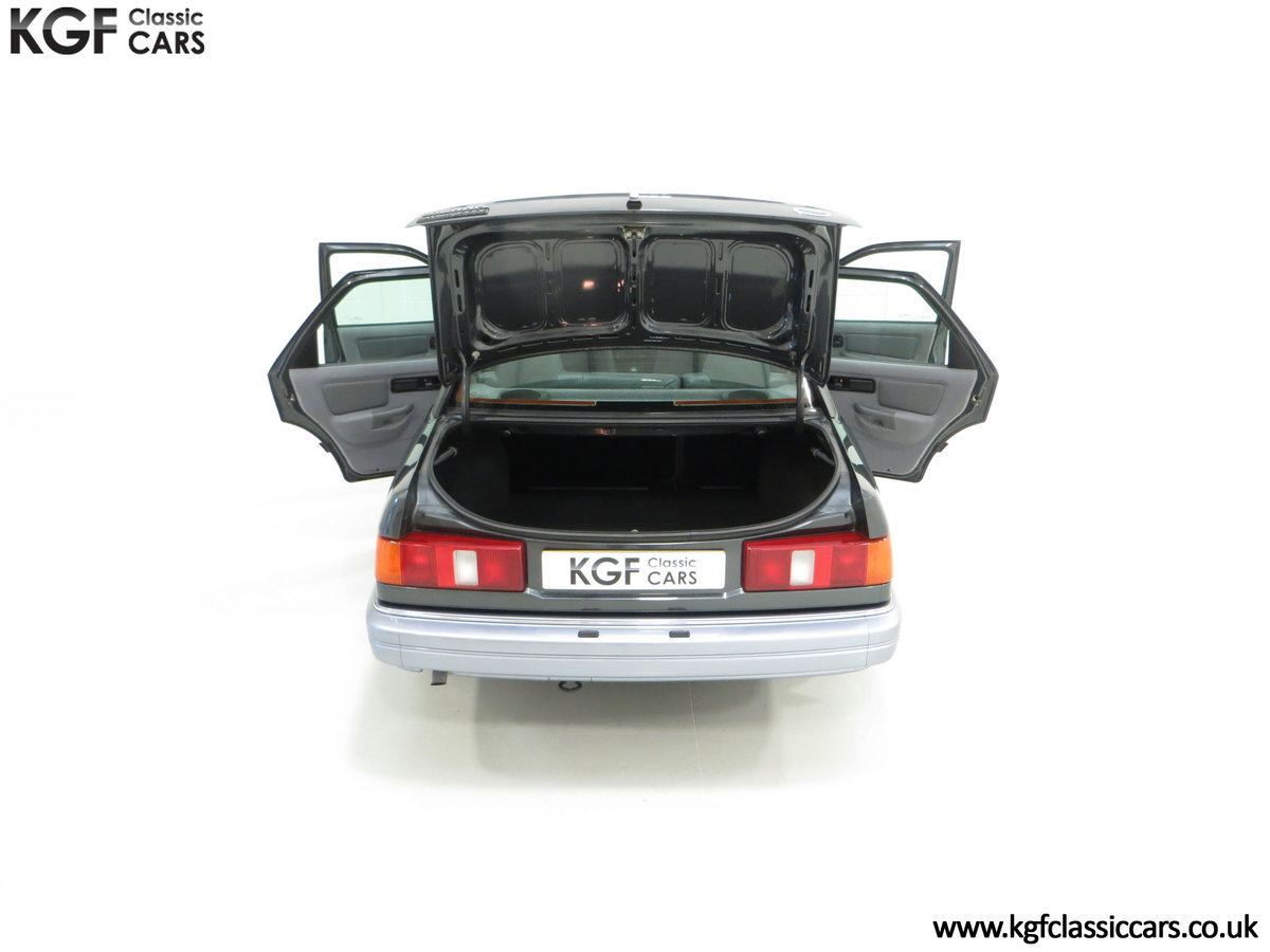1989 A Luxury Ford Sierra Sapphire 2000E with just 13,744 Miles SOLD (picture 11 of 24)
