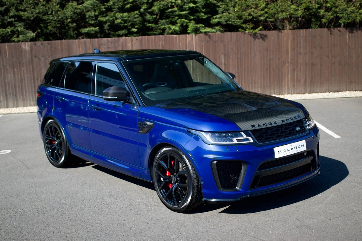 2019/69 Range Rover Sport SVR For Sale (picture 1 of 6)