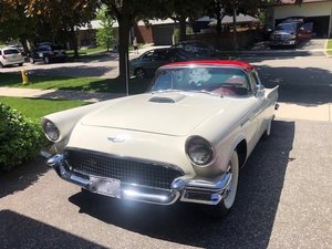 1957 Ford Thunderbird 2 door convertible with Port Hole hard