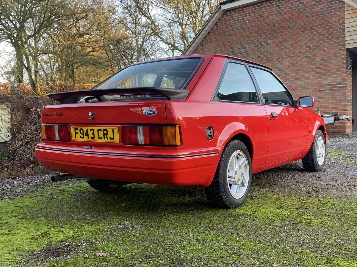 1988 Ford Escort Xr3i For Sale Car And Classic