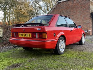 1988 Ford Escort XR3i