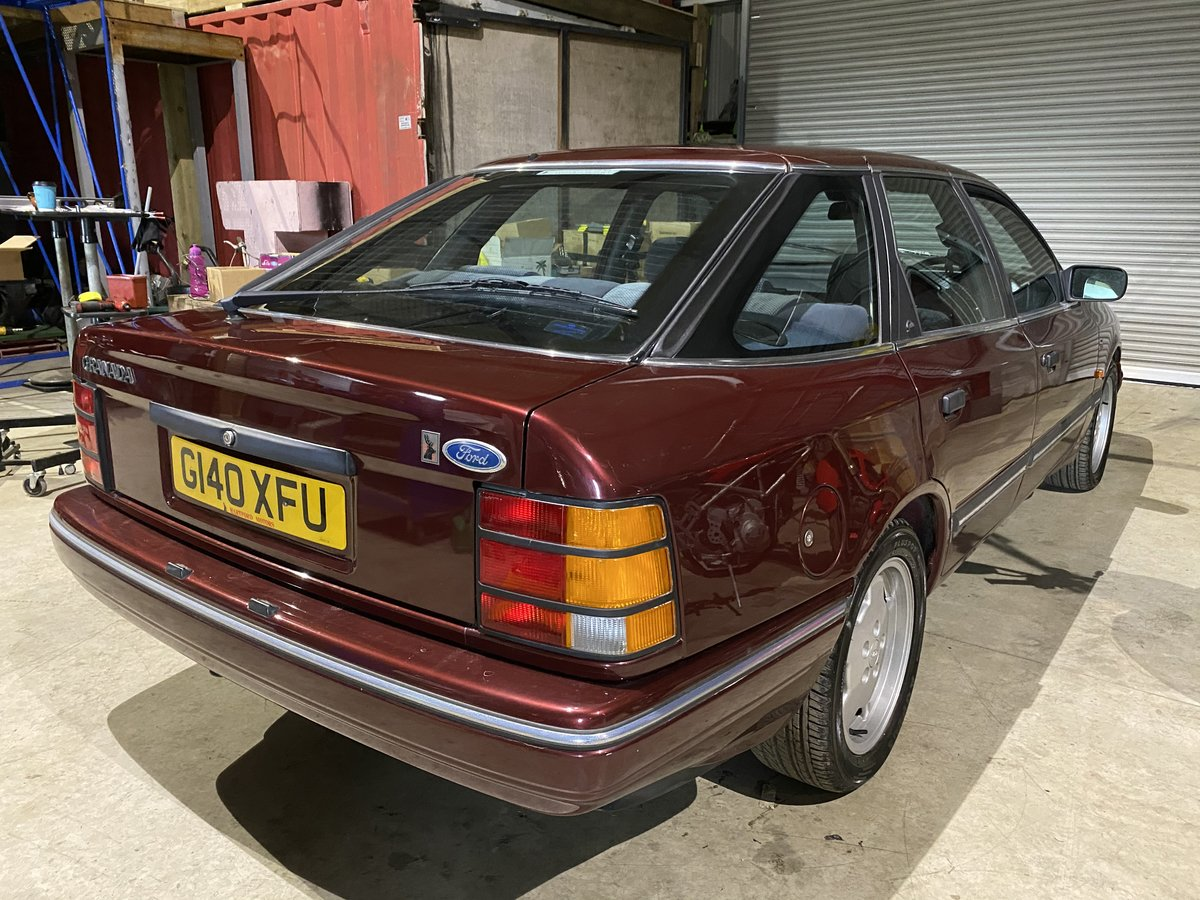 1990 Ford granada 2.0 twin cam ghia exceptional For Sale (picture 2 of 6)