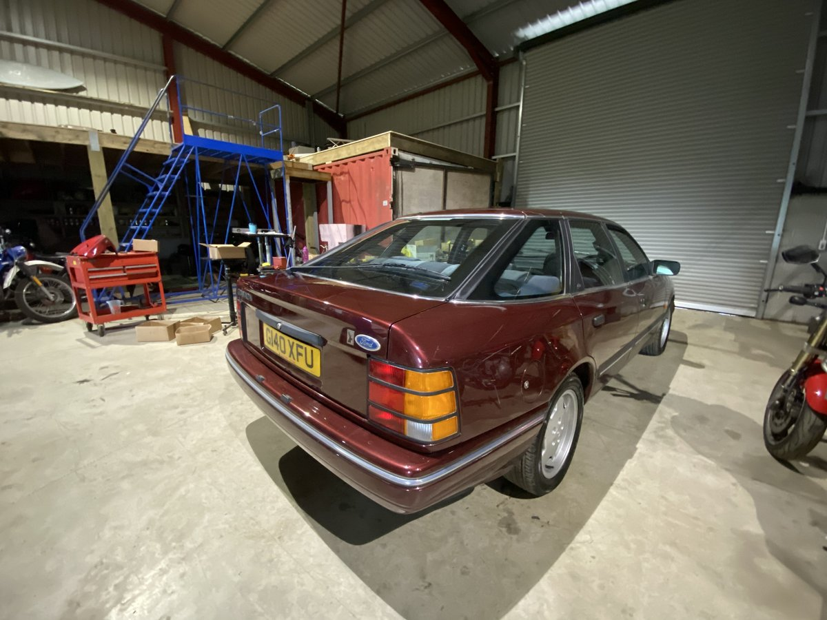 1990 Ford granada 2.0 twin cam ghia exceptional For Sale (picture 4 of 6)