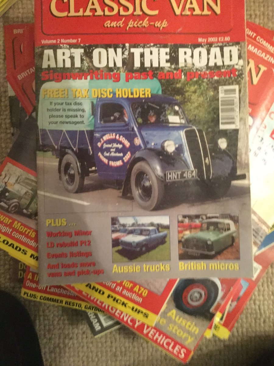 1989 Transit magazines For Sale (picture 4 of 6)