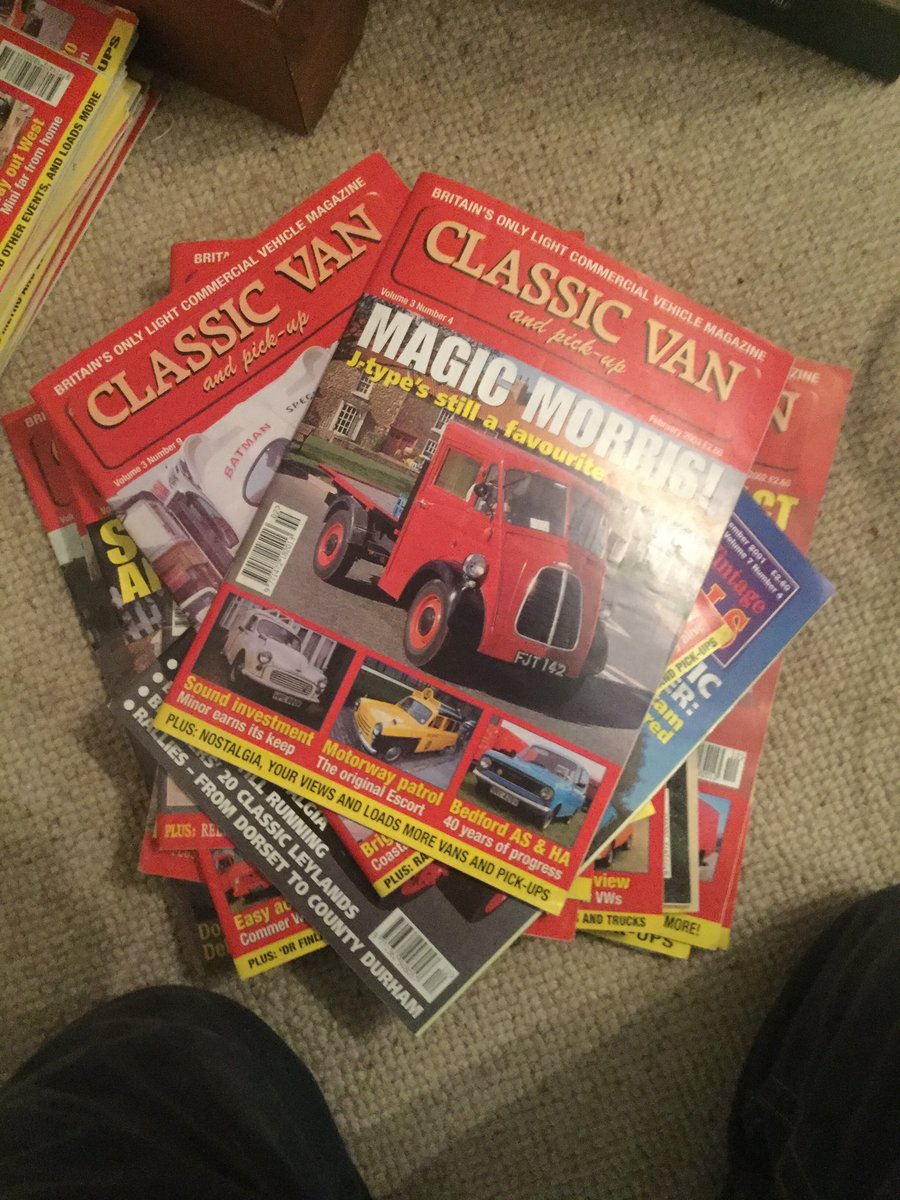 1989 Transit magazines For Sale (picture 5 of 6)