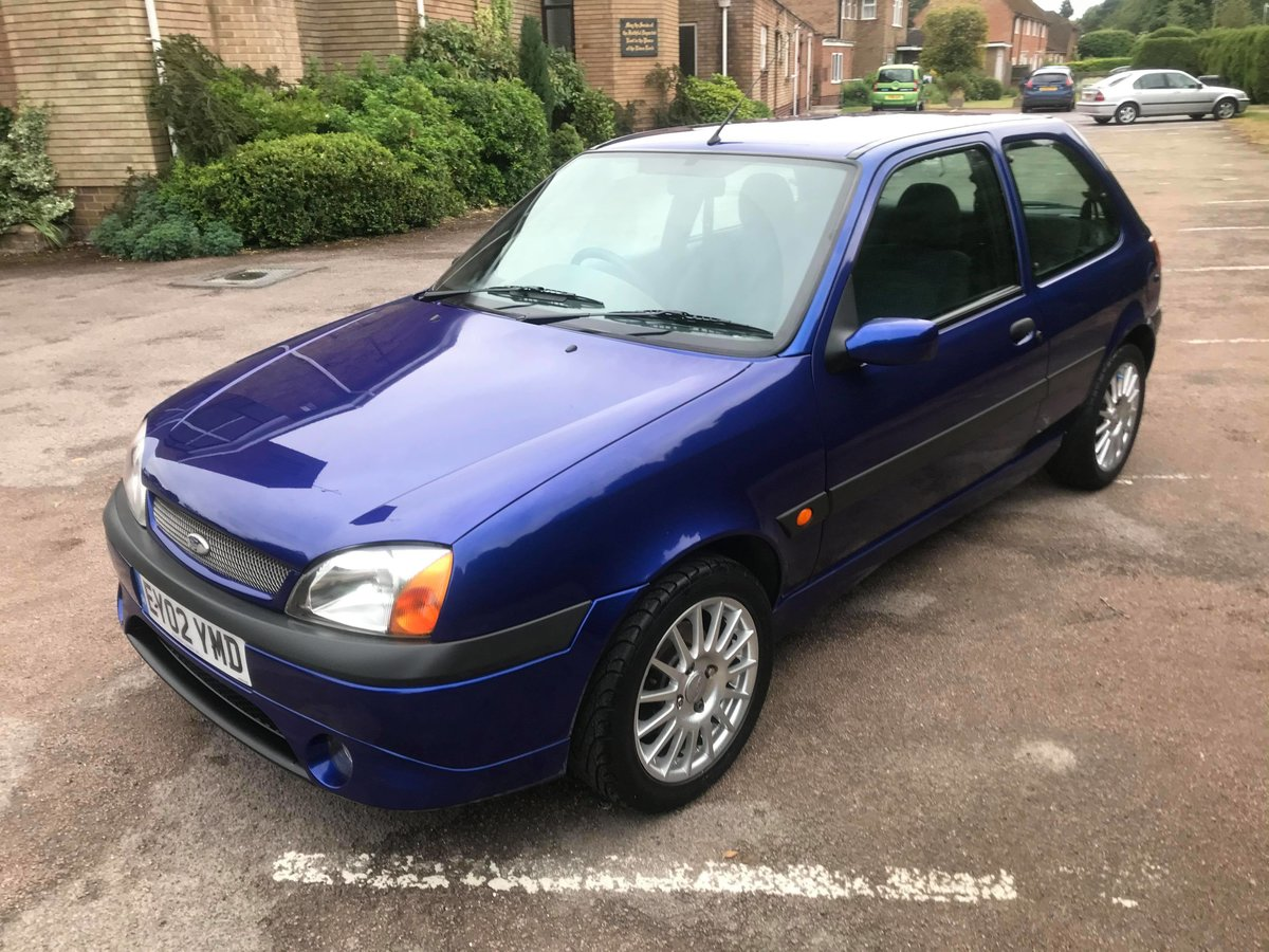 2002 Ford Fiesta Zetec S mk5 1.6l For Sale (picture 1 of 6)