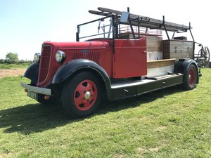 Ford v8 fire engine