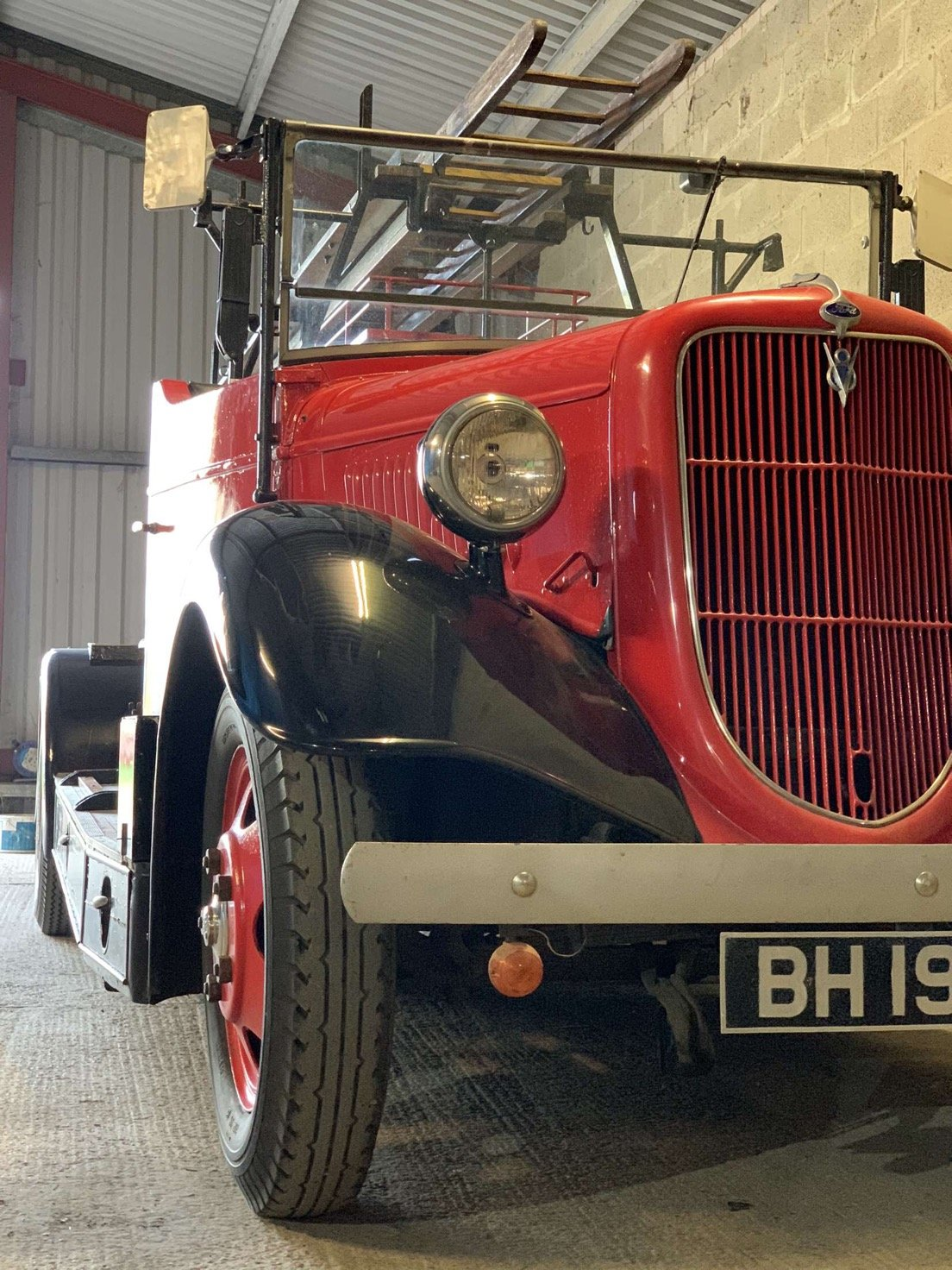 1935 Ford v8 fire engine For Sale (picture 4 of 4)