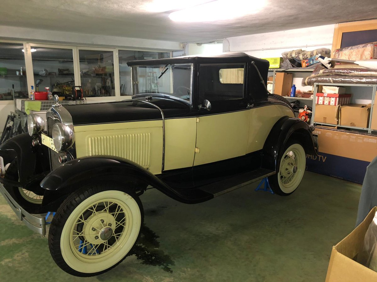 1936 Ford model a cabriolet convertible For Sale (picture 1 of 6)