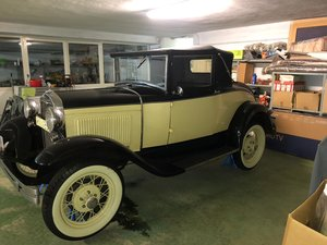 Ford model a cabriolet convertible