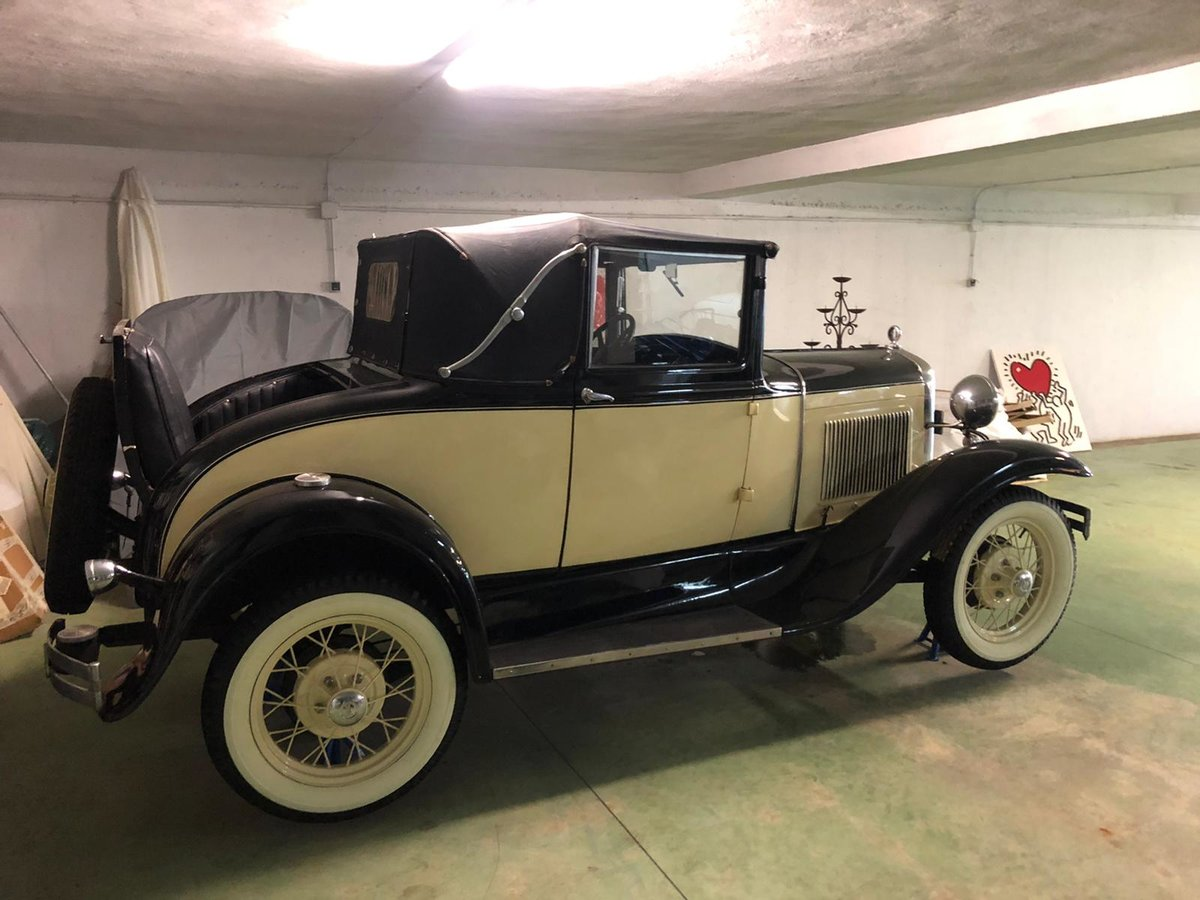 1936 Ford model a cabriolet convertible For Sale (picture 3 of 6)