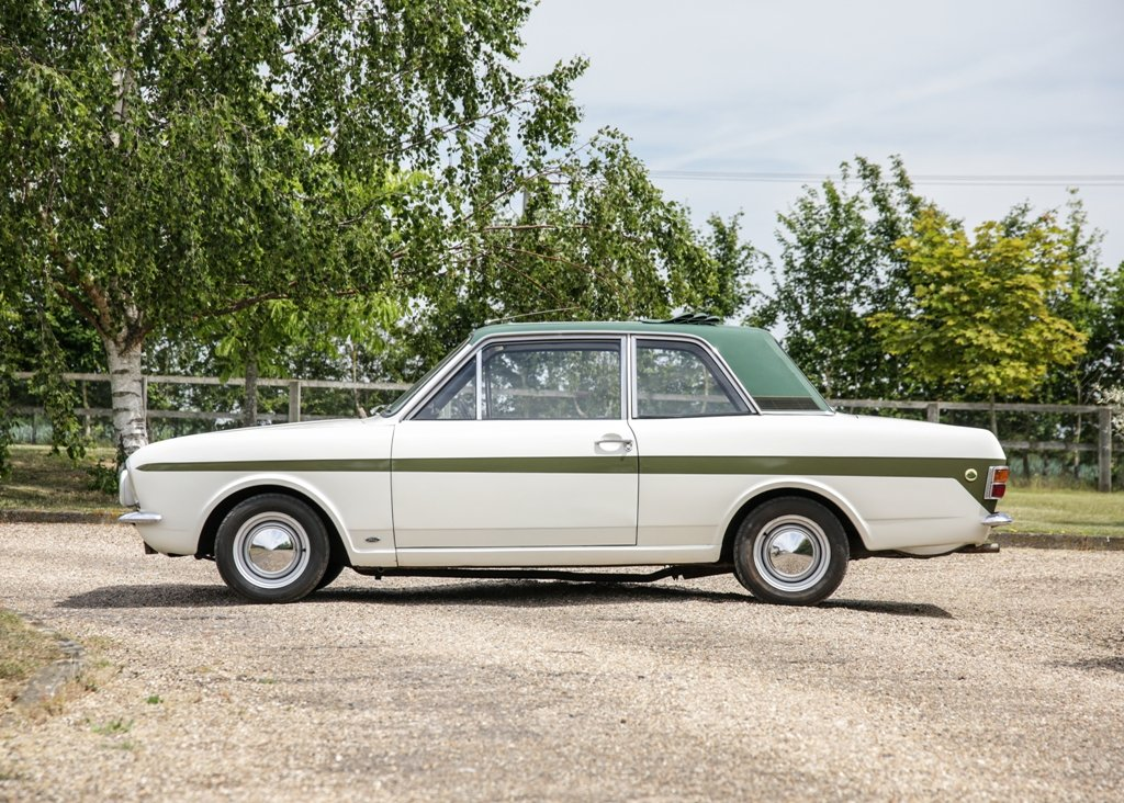 1968 Ford Lotus Cortina Mk. II SOLD by Auction (picture 1 of 6)