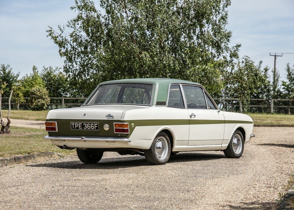 1968 Ford Lotus Cortina Mk. II SOLD by Auction (picture 3 of 6)