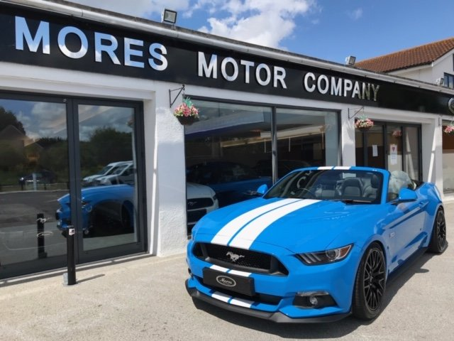 Mustang GT 5.0 V8 Custom Pack 2017 Convertible 5,000 miles SOLD (picture 1 of 6)