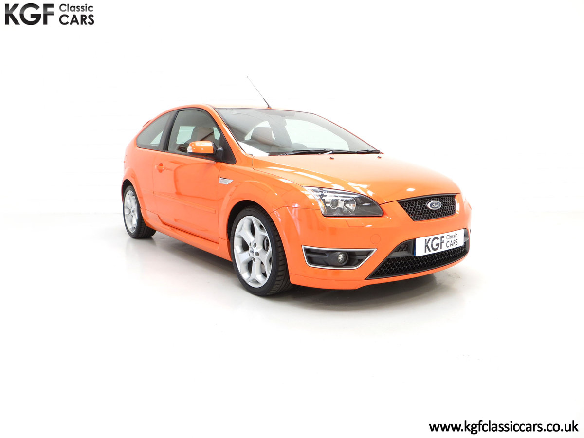 2002 A Striking Ford Focus ST225 with 18,320 Miles One Owner  SOLD (picture 1 of 24)