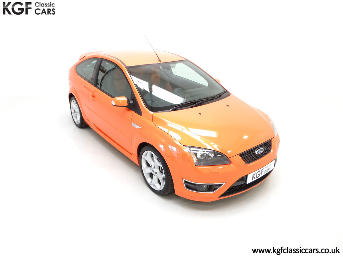 2002 A Striking Ford Focus ST225 with 18,320 Miles One Owner  SOLD (picture 2 of 24)